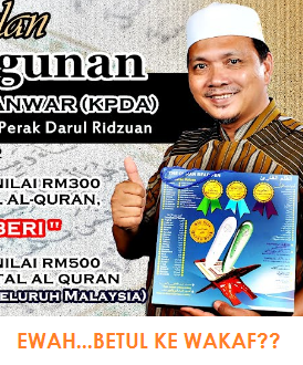 Soalan kepada Idham Lim - Isu Wakaf Al-Anwar