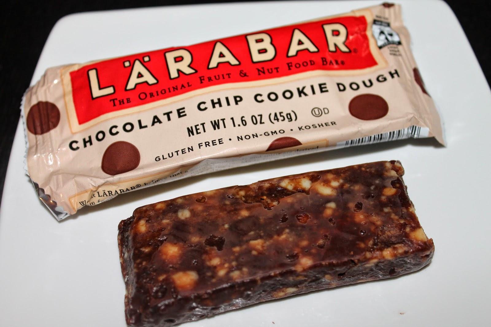 Chocolate Chip Cookie Dough Larabar Calories