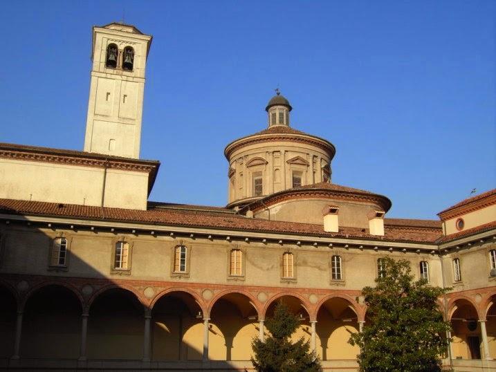 visite alla basilica di san vittore al Corpo, Milano