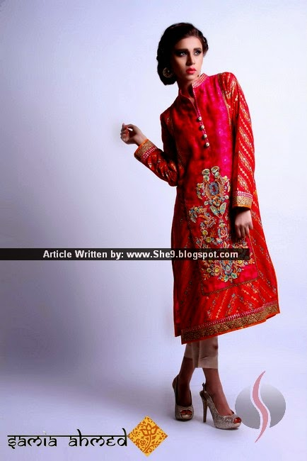 SAMIA AHMED PRET COLLECTION FOR SPRING-SUMMER 2015