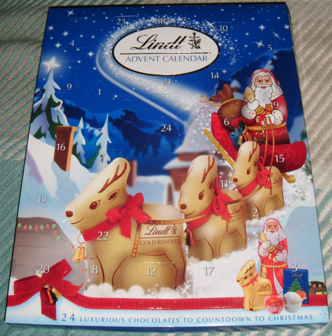German Advent Calendar With Chocolate Lindt advent calendar 2012 [by