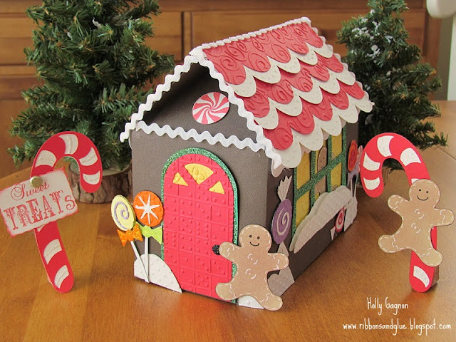 Paper Gingerbread House