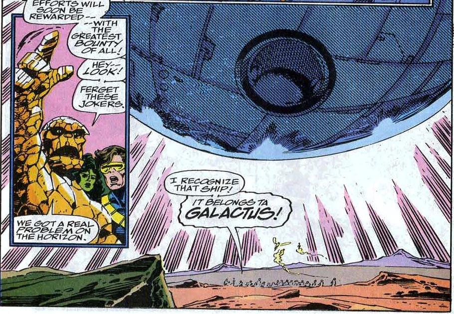 FF Fantastic Four 369 Galactus Ship