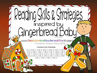http://www.teacherspayteachers.com/Product/Gingerbread-Baby-Reading-Skills-Strategies-Packet-421100
