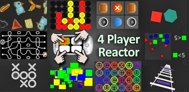 4 Player Reactor  Multiplayer Game