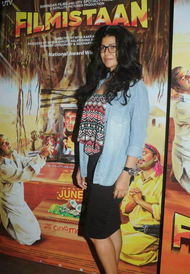 Celebs at Special Screening of Movie Filmistaan