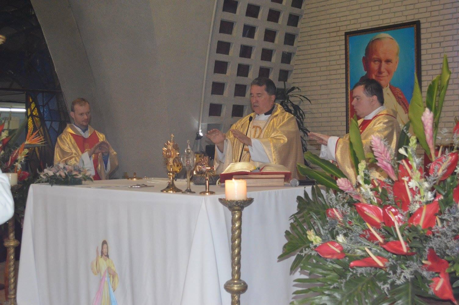 Compromisos en la Unión del Apostolado Católico con Monseñor Pedro Salamanca