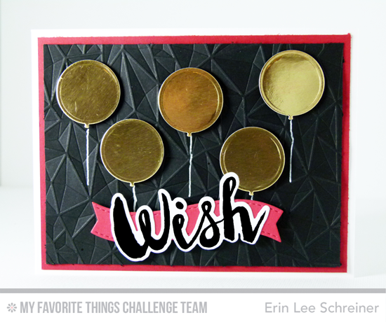 Balloon WIsh Card by Erin Lee Schreiner featuring the Laina Lamb Designs Count the Stars stamp set and Die-namics and Balloon STAX Die-namics #mftstamps