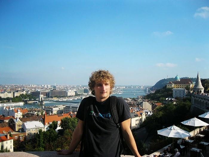 Budapest Boedapest uitzicht view boyfriend