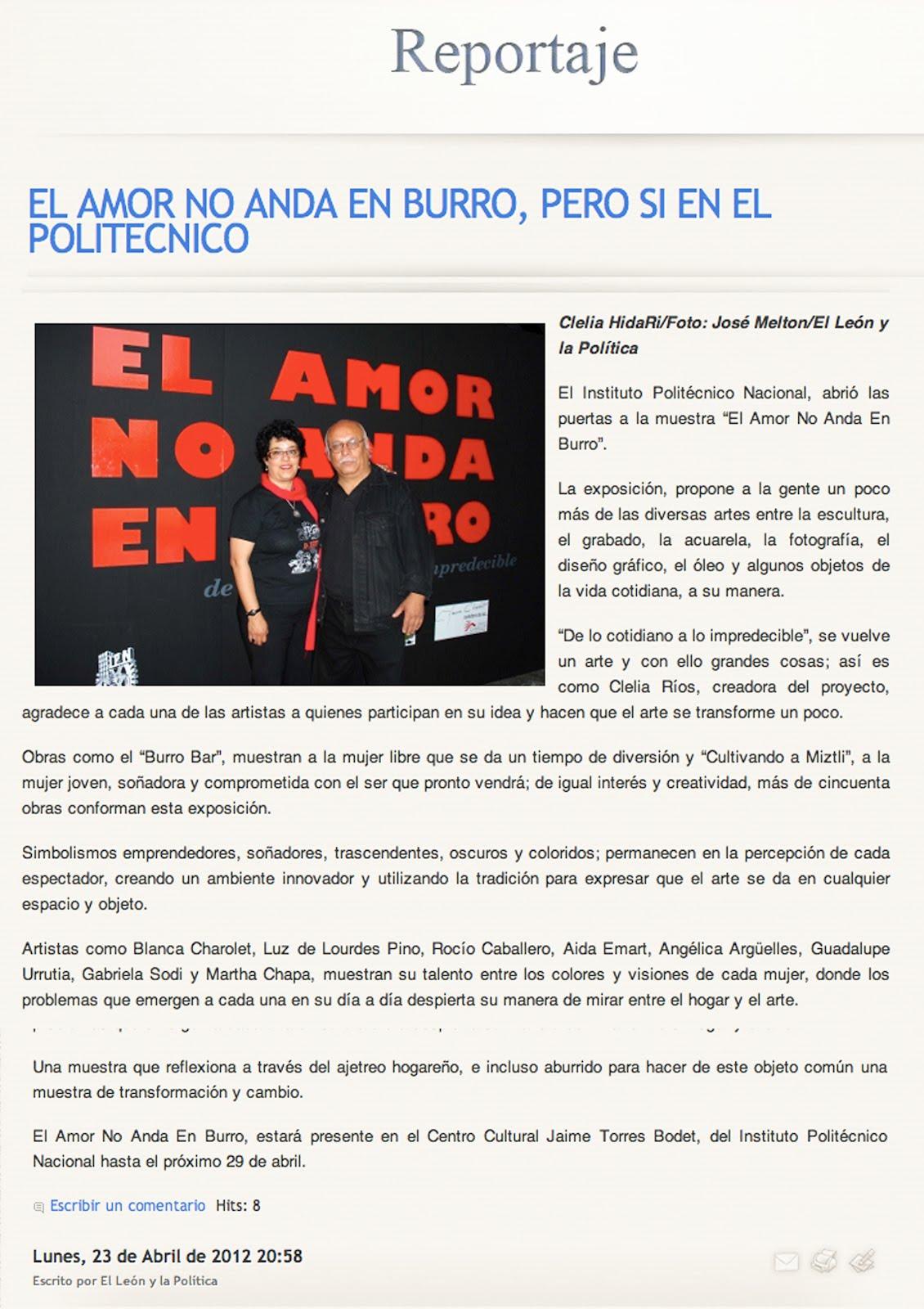 El León y la Política. De Primera Plana