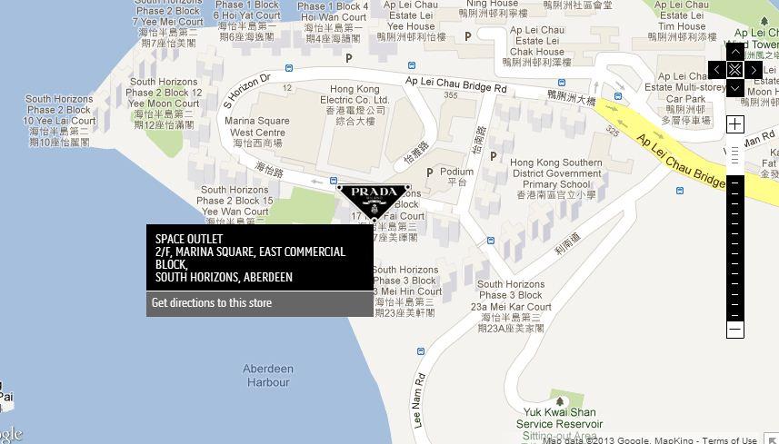 prada book bag - Manila Shopper: Prada Outlet Store at Space Outlet Marina Square ...
