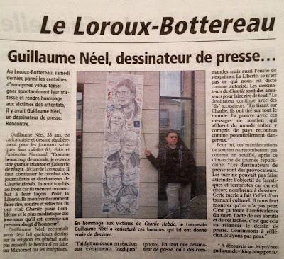 Guillaume Néel, dessinateur de presse ©Guillaume Néel