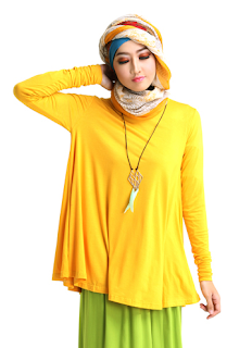 Model Baju Muslim Casual Trendy