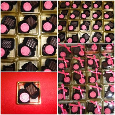 Choco Choc Lovers Door Gift Chocolate