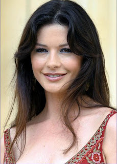 Catherine Zeta-Jones voted most beautiful British woman