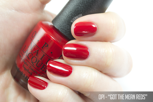OPI - Got the Mean Reds