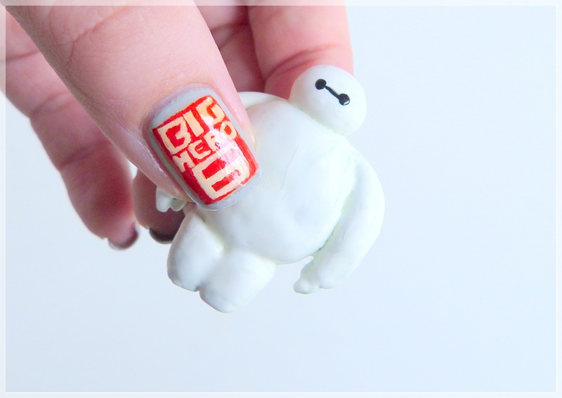 Nailart Big Hero 6