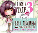 Top 3 Polkadoodles Crafting challenge week 32-33