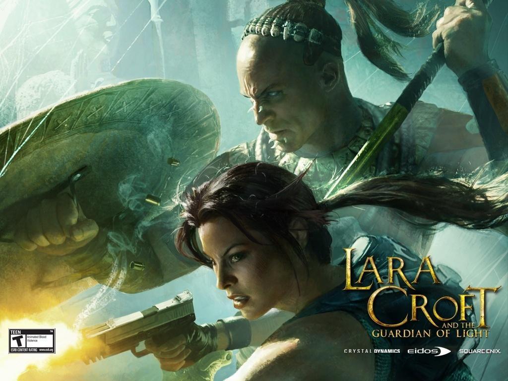 windows7 desktop wallpaper free download: lara croft hollywood movie