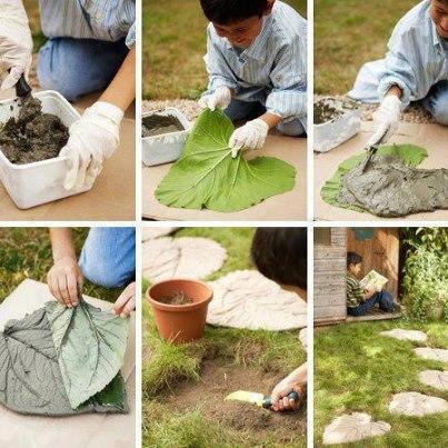 Baldosas jardin decorar tu casa es for Baldosas para jardin