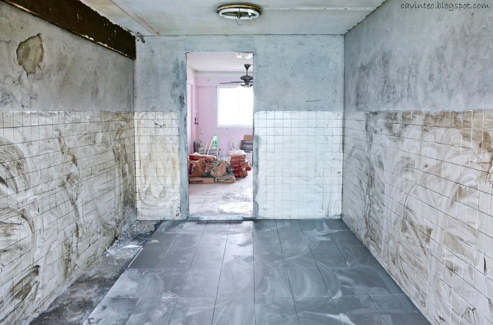 Entree Kibbles: Renovation Part 1 - Time To Dismantle!