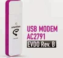 spesifikasi Smartfren USB MODEM Rev. B AC2791