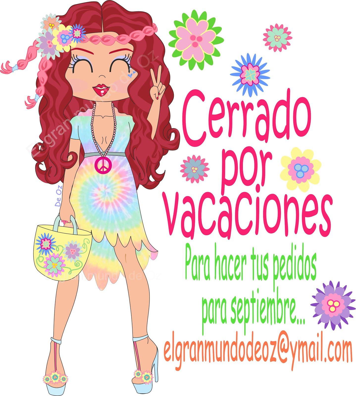 CERRADO POR VACACIONES ;) Hasta septiembre