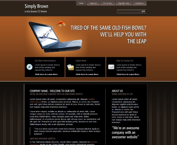 Simply - Brown