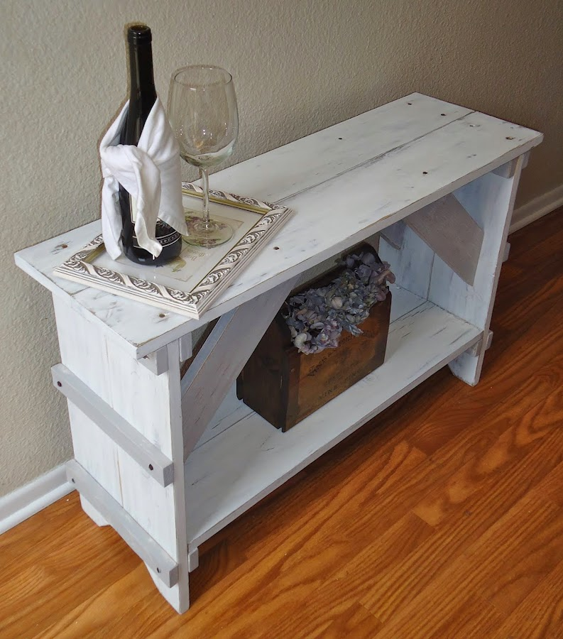 Cottage Chic Bench -SOLD