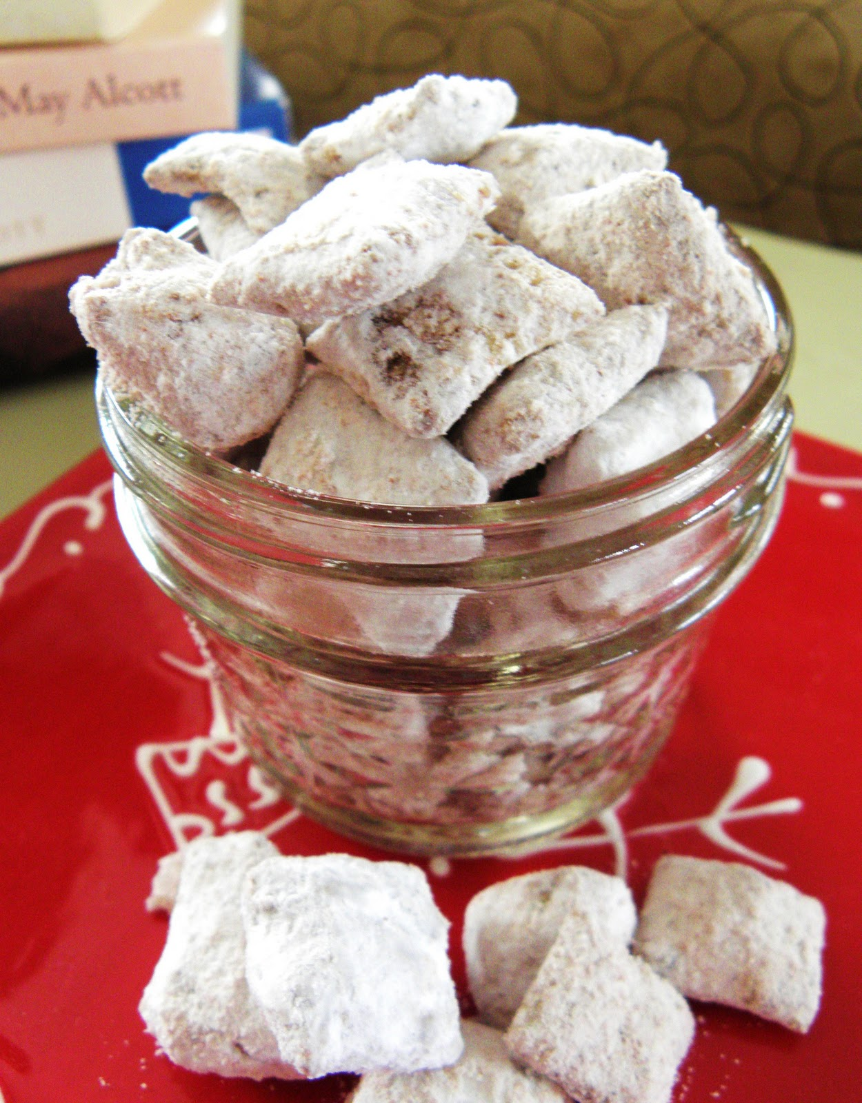 nutella puppy chow - Christmas Puppy Chow
