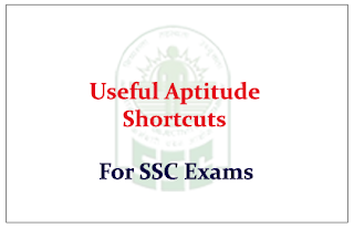 Useful Aptitude shortcuts and Mind tricks
