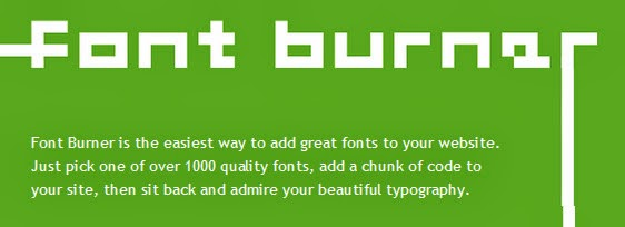 Font Burner