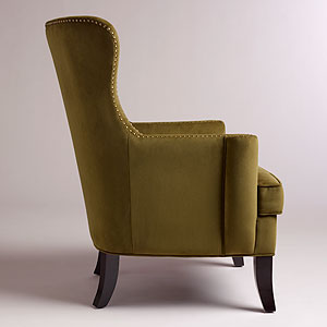 Charmant This Is The Caper Elliott Wingback Chair. Ainu0027t He A Beauty! Look At The  Profile, And The Nailheading, Oooooh, My Heart Goes Pitter Patter (even  Without My ...