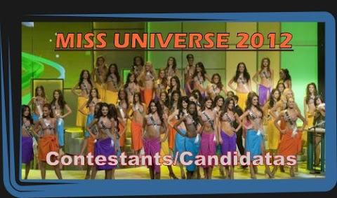 Miss Universe 2012: Traje de baño, noche y tipico
