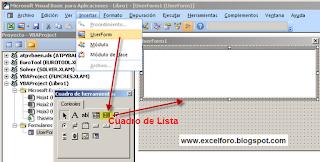 VBA: ListBox con varias columnas y encabezados.