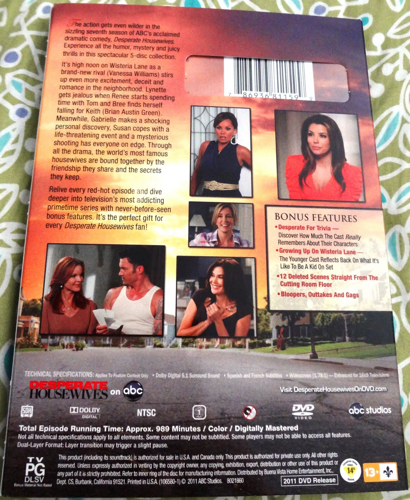 desperate housewives the complete seventh season dvd boxset review. Black Bedroom Furniture Sets. Home Design Ideas