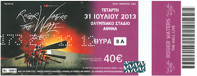 Roger Waters in Athens :
