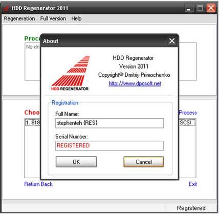 HDD Regenerator - Dmitriy Primochenko Online
