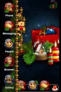 TSF Theme Christmas Vignette android apk - Screenshoot