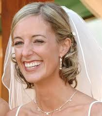 Recogido elegante de novia para cabello corto Paso a