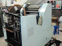 mesin cetak offset oliver 52