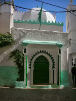 mosque that Matisse painted in Tangier
