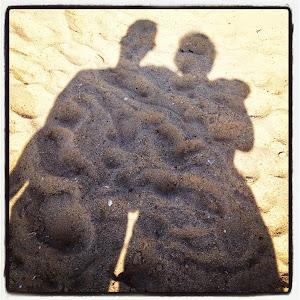 Mig. Manden. Kærlighed. Hjerting Strand.