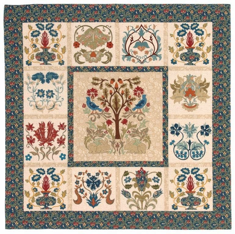William Morris In Quilting Quilt Gallery And Patterns
