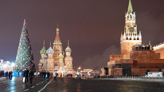 Holiday in Red Square Moscow, Holiday in Russia, Tour to Russia
