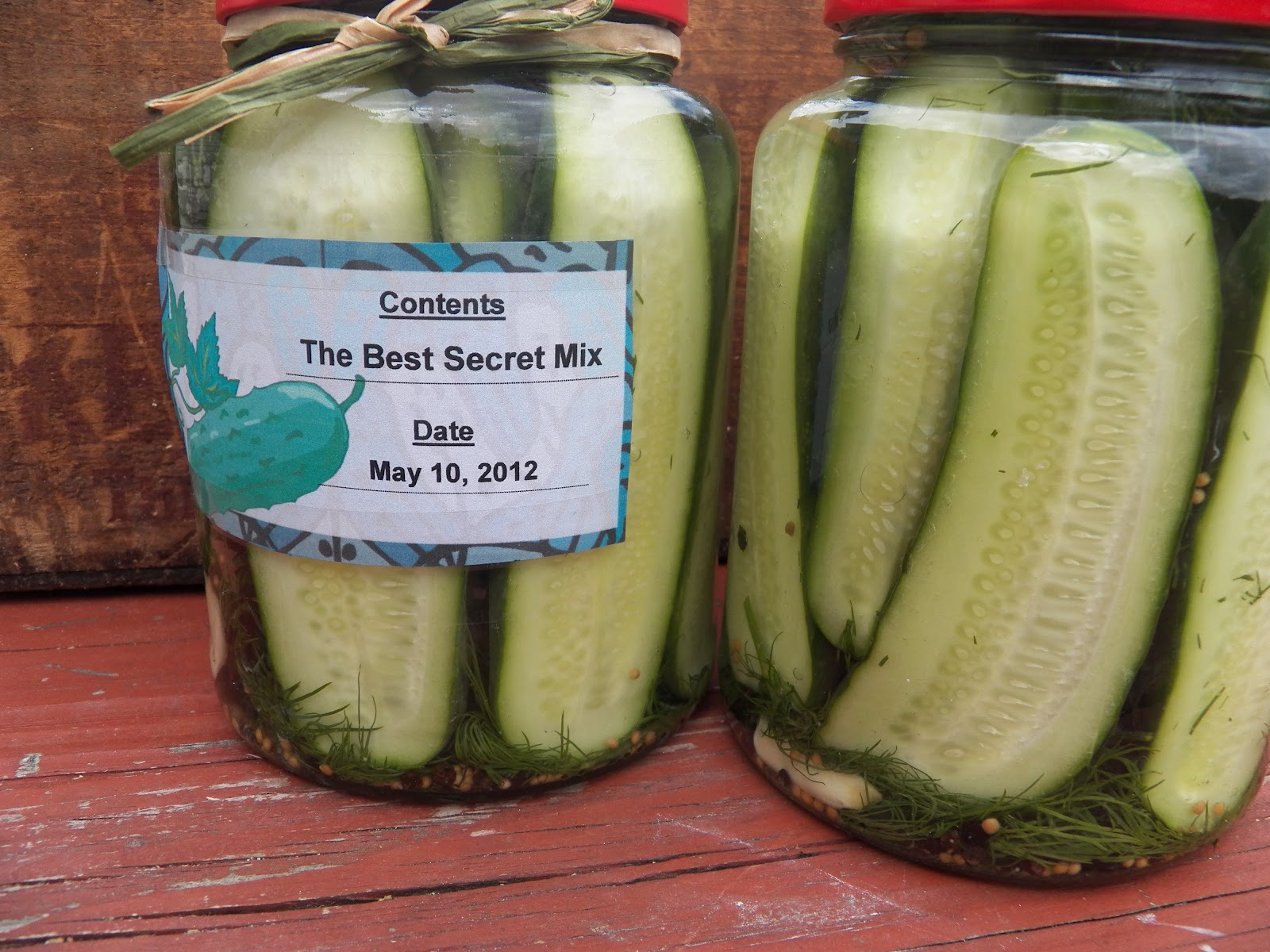 Comfy Cuisine: Dill-icious Refrigerator Pickles