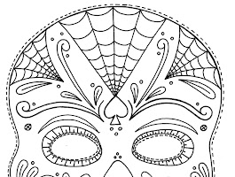 Skulls Coloring Pages To Print