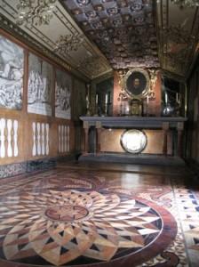 Interior del Palacio Ducal de los Borgia en Gandia