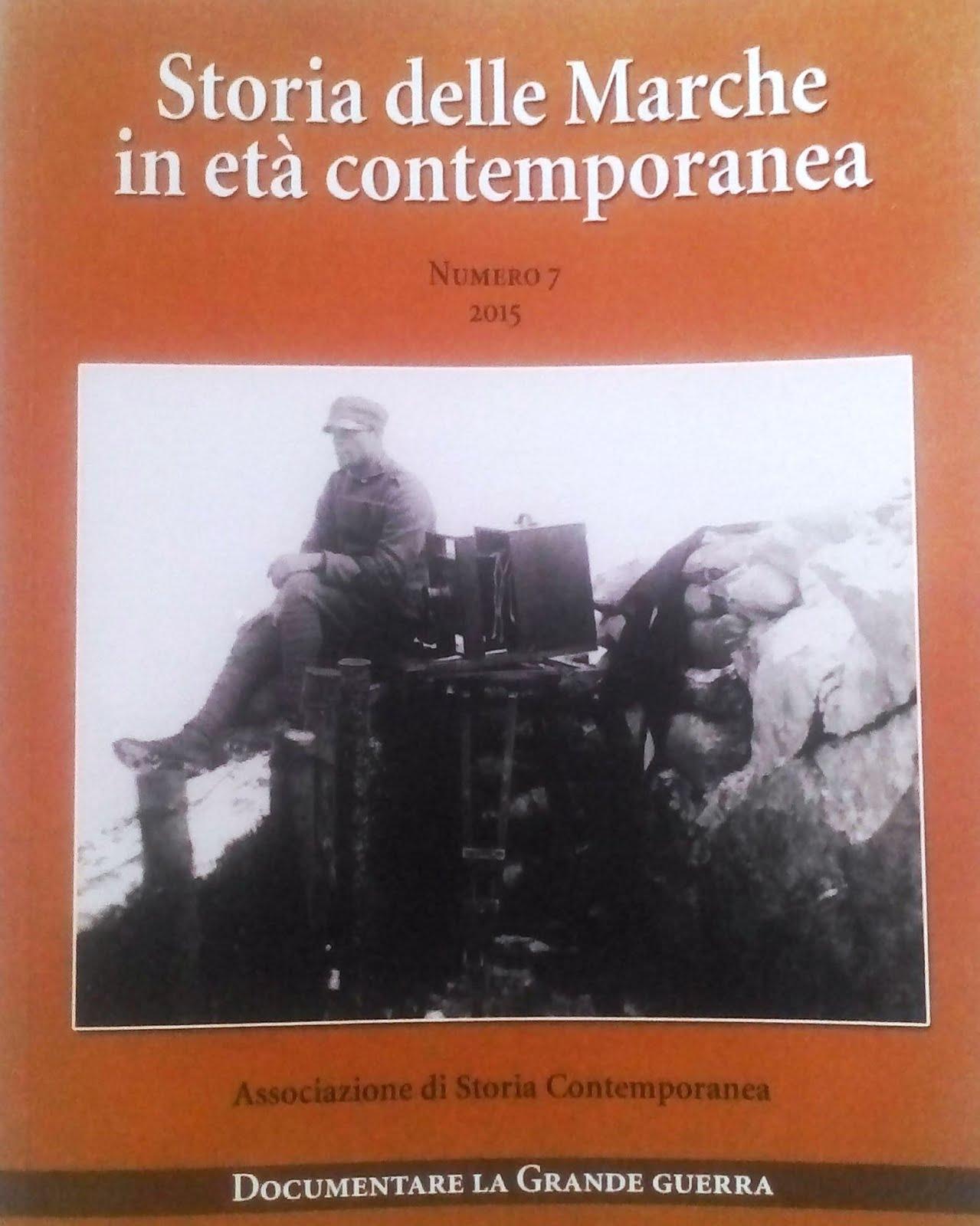 Rivista Storia delle Marche in Età Contenporanea