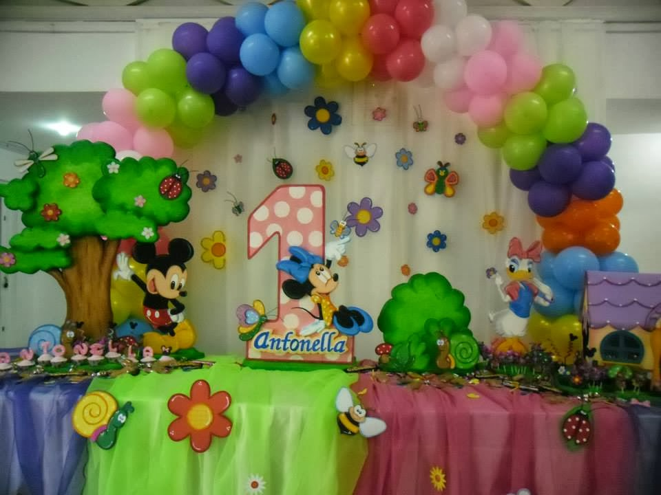 DECORACION MINNIE Y MICKEY MOUSE